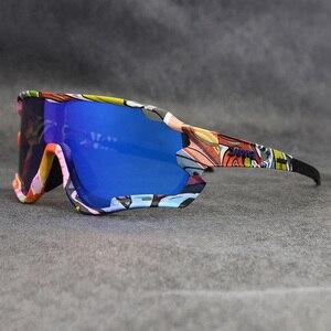 Image 3 - الدراجات نظارات الاستقطاب Uv400 الدراجة الجبلية النظارات الشمسية الرجال نظارة شمس رياضية دراجة نظارات Gafas Ciclismo الدراجات النظارات الشمسية
