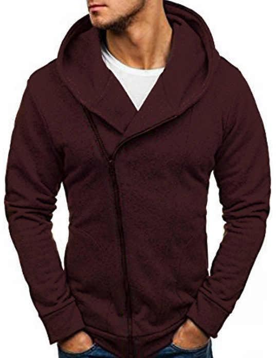 Puimentiua 2019 Effen Truien Jacket Mannen Lange Mouwen Herfst Winter Casual Streetwear Hoodies Hip Hop Jas Trainingspakken Jas