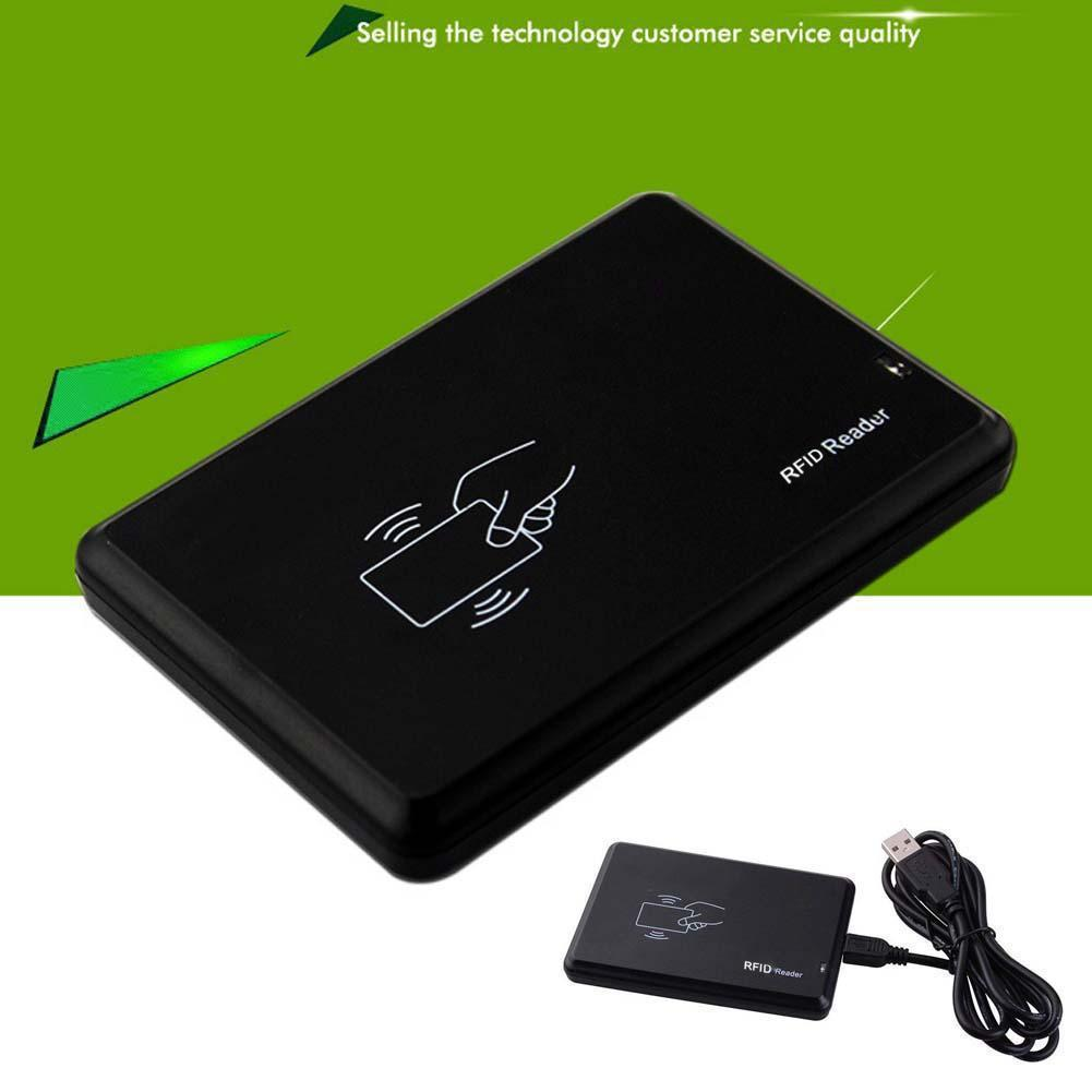 125khz ID Contactless Sensitivity Smart Card Support Window System Linux RFID Card Reader Smart Card Reader Sim Card Reader