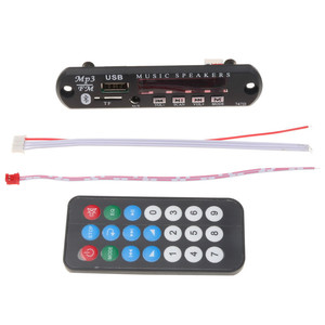 Car MP3 decoder board Car Blue