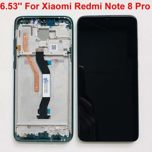 "Image 5 - Original New For 6.53"" Xiaomi Redmi Note 8 Pro LCD Display Screen+Touch Screen Digitizer With Frame For Redmi Note 8 Pro LCD"