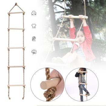 new 10m folding soft ladder fire rescue equipment escape ladder life saving ladder aluminum alloy wire rope ladder for climbing Child Climbing Rope Ladder (69) 5 Wooden Steps Playground Climbing Game Swing Rope Ladder Kids Sport Playing Equipment