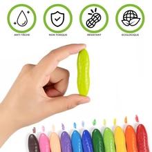 Macaron amendoim pastéis marcadores não sujo mão lavável crianças stall brinquedo pintura criativa papelaria para o artista mangá marcador