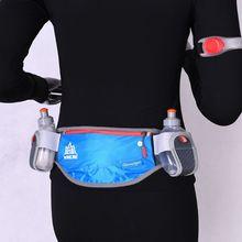 Unisex Running Waist Bag Marathon Cycling Belt Bum Bag Storage Pockets Hiking Waist Pack new 1pc unisex multi functional pockets bum bag handy pack waist belt zip pouch
