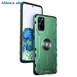 Image 2 - Full Protection Shockproof Hybrid Silicone Aluminum Metal Case For Samsung Galaxy S20/ Plus/ Ultra Luxury Armor Hard Cover Case