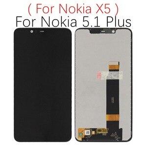 Image 5 - สำหรับNokia 5.1 PlusจอแสดงผลLCDหน้าจอสัมผัสTA 1024 1027 1044 1053 1008 1030 1109 1075 สำหรับNokia 5 5.1 PlusจอแสดงผลLCD X5