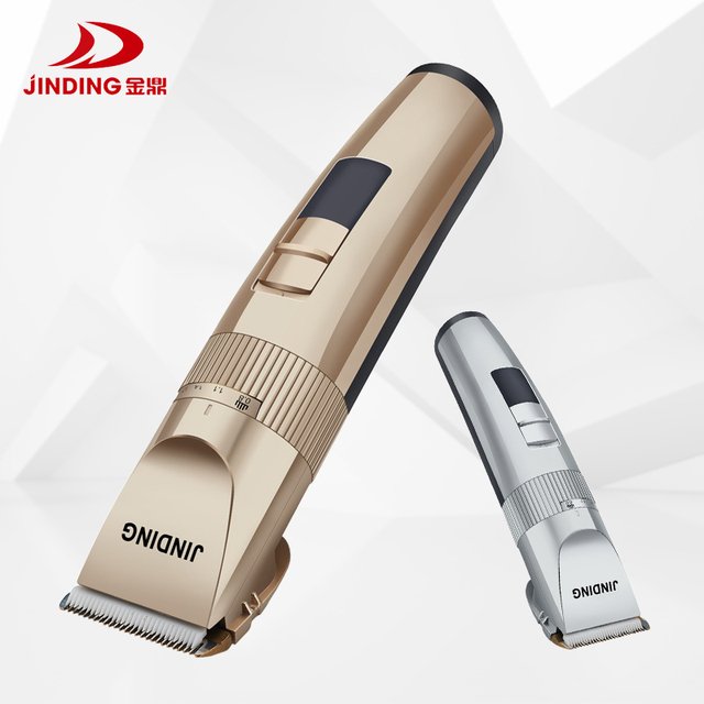 JINDING Professional Hair Trimmer Men&women Electric Haircut Machine Rechargeable 110 240v 5h Cordless Clippers