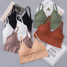 2 Pcs Bras Women Bralette Top Sexy Seamless Bra Seamless Female Sexy Crop Tops Tube Tops Sexy Bh Lingerie Bra