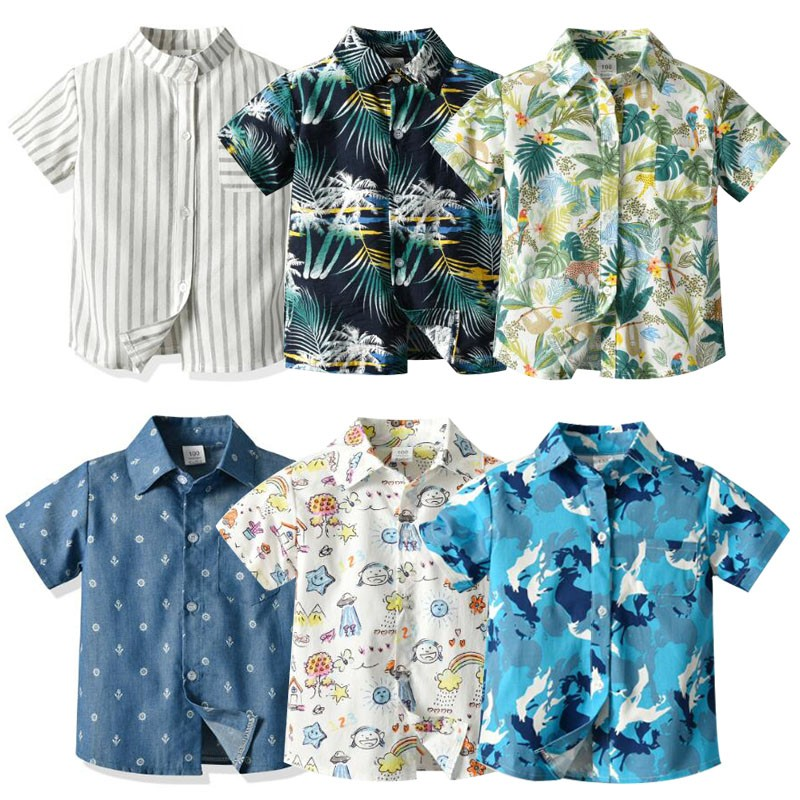 Boys' Summer Thin-Style Shirts