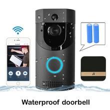 WIFI Doorbell IP65 Waterproof Smart Video Door chime Wireless Intercom FIR Alarm