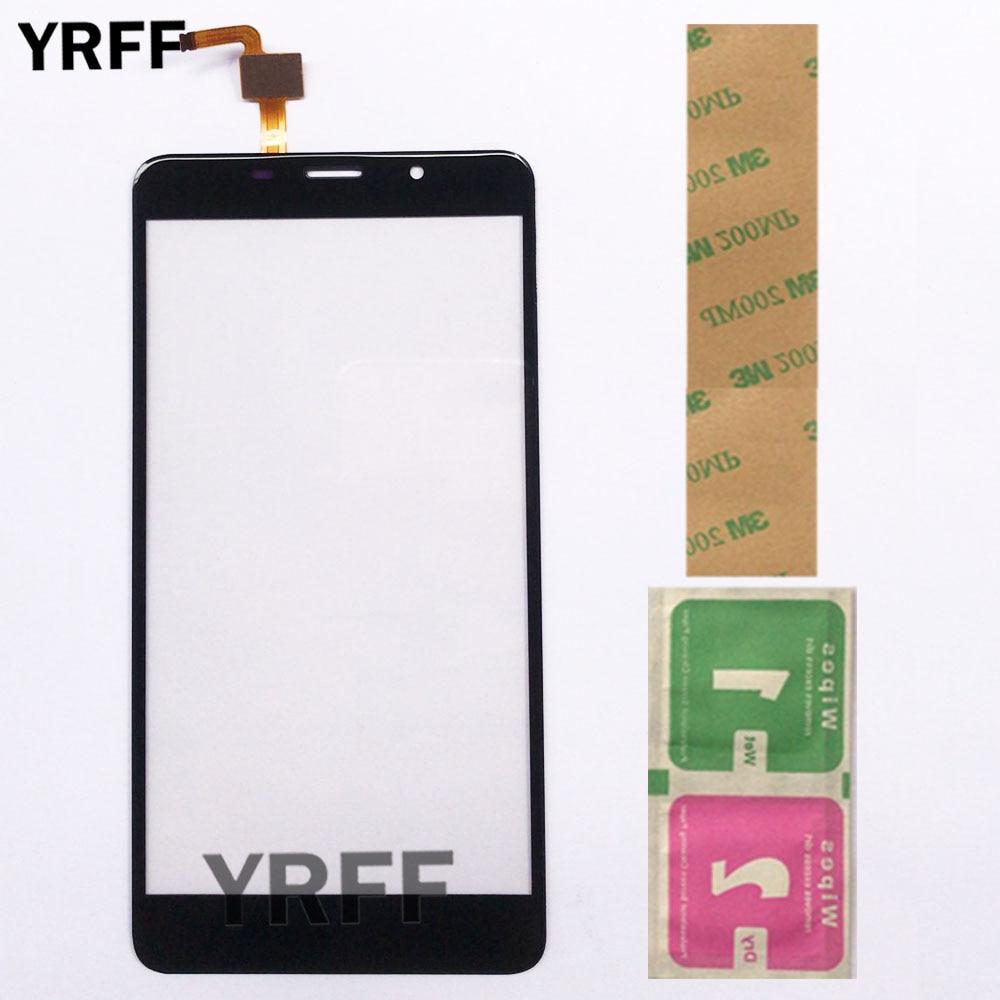Дисплей с тачскрином YRFF для Leagoo M8 / M8 Pro, золотой/ черный