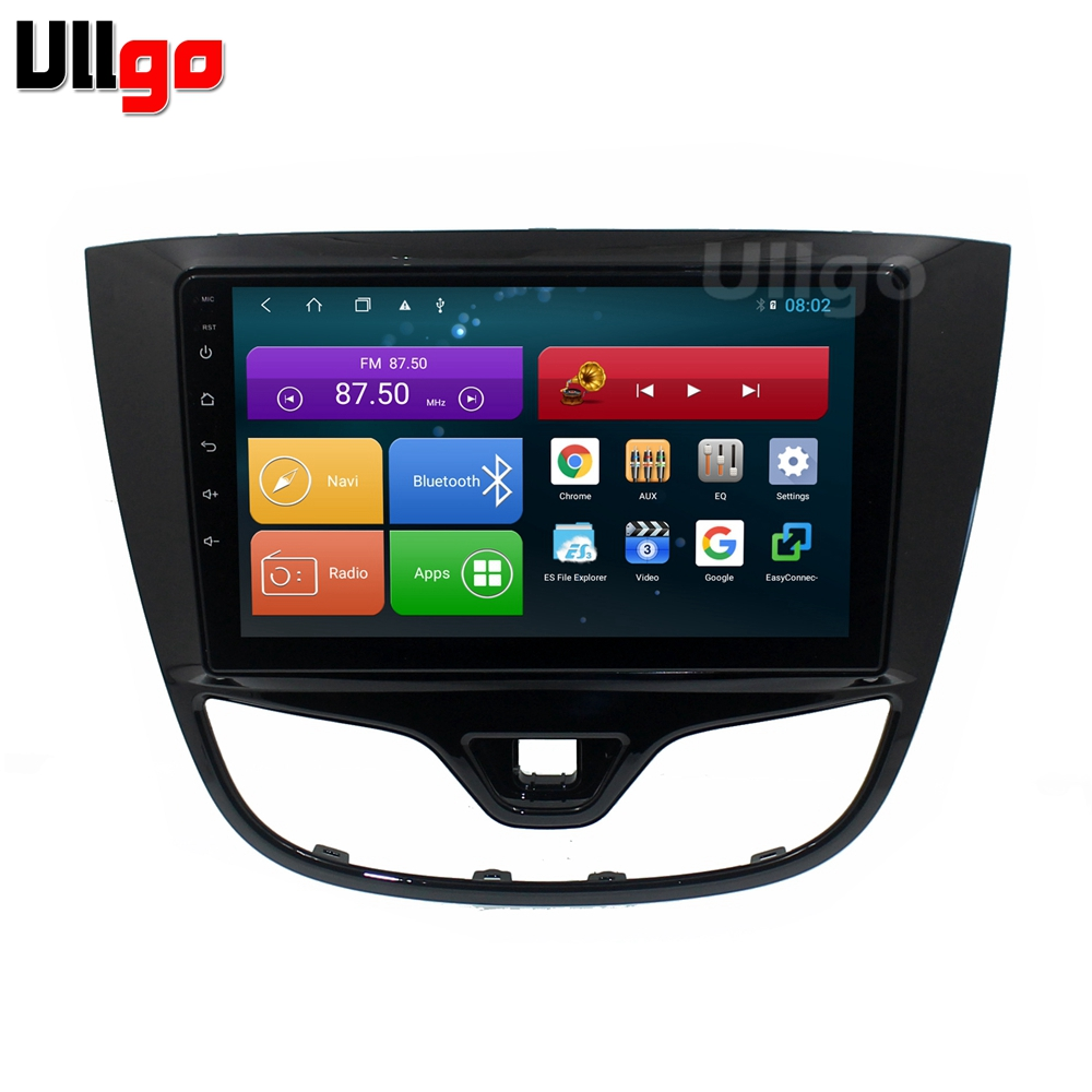 9 inch 4G RAM+64G ROM Octa Core <font><b>Android</b></font> 8.1 Car Head Unit for Opel Karl / Vauxhall Viva / VinFast Fadil Autoradio GPS Car Stereo image