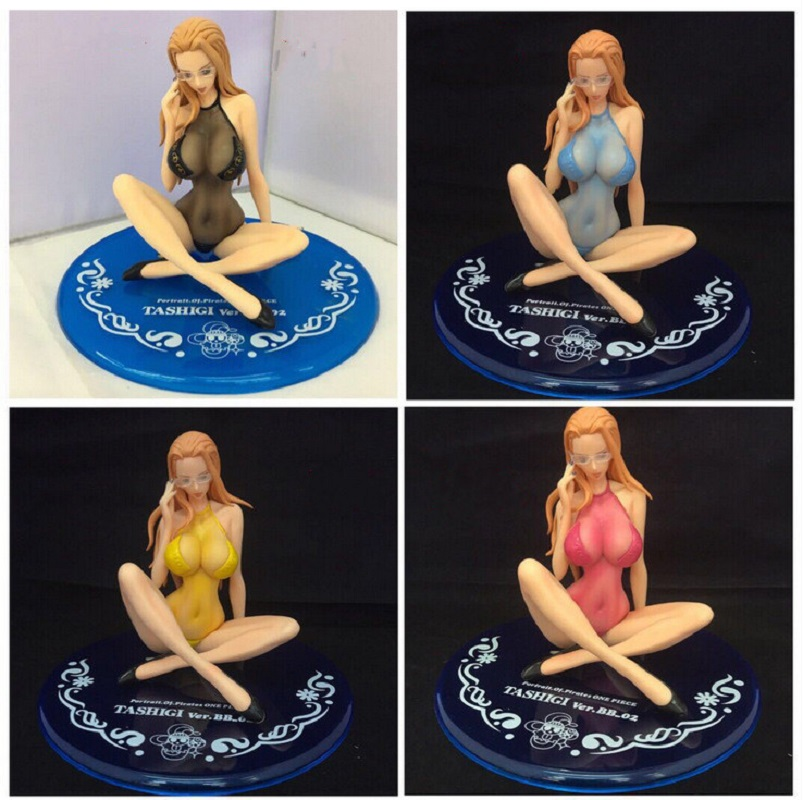 ONE PIECE Sexy Figurine Kalifa Swimsuit Ver.BB.02 PVC Model Bikini Sexy Girl Anime Action Figure PVC Collection Girl's Doll 12cm 1