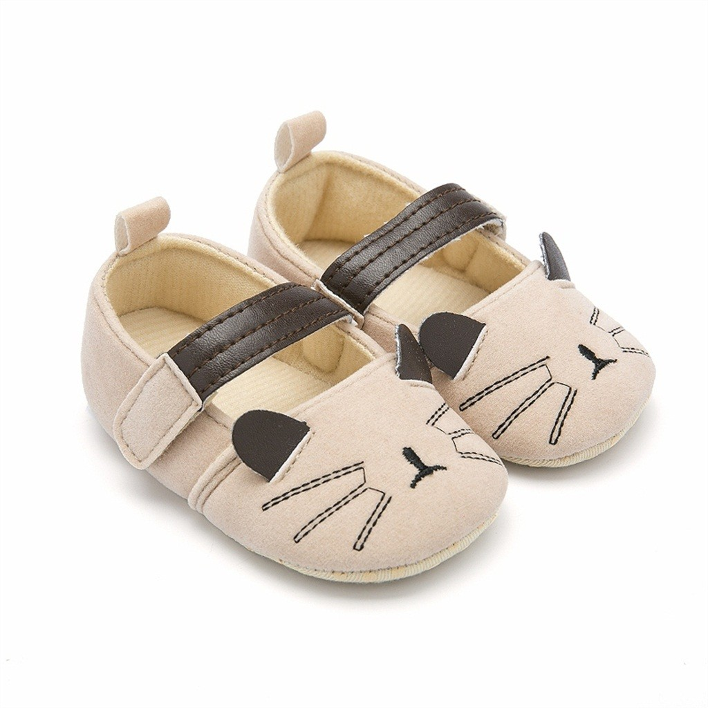Baby Shoes Baby Girl Shoes Girls Chaussure Fille Infant Newborn Zapatos Chaussure First Walk Cartoon Cute Winter Casual Warm Z5