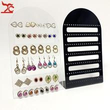 126-Holes Showcase-Rack Display-Stand Earring-Board Jewelry Holder-Ear Joyeros Organizador-De-Joyas