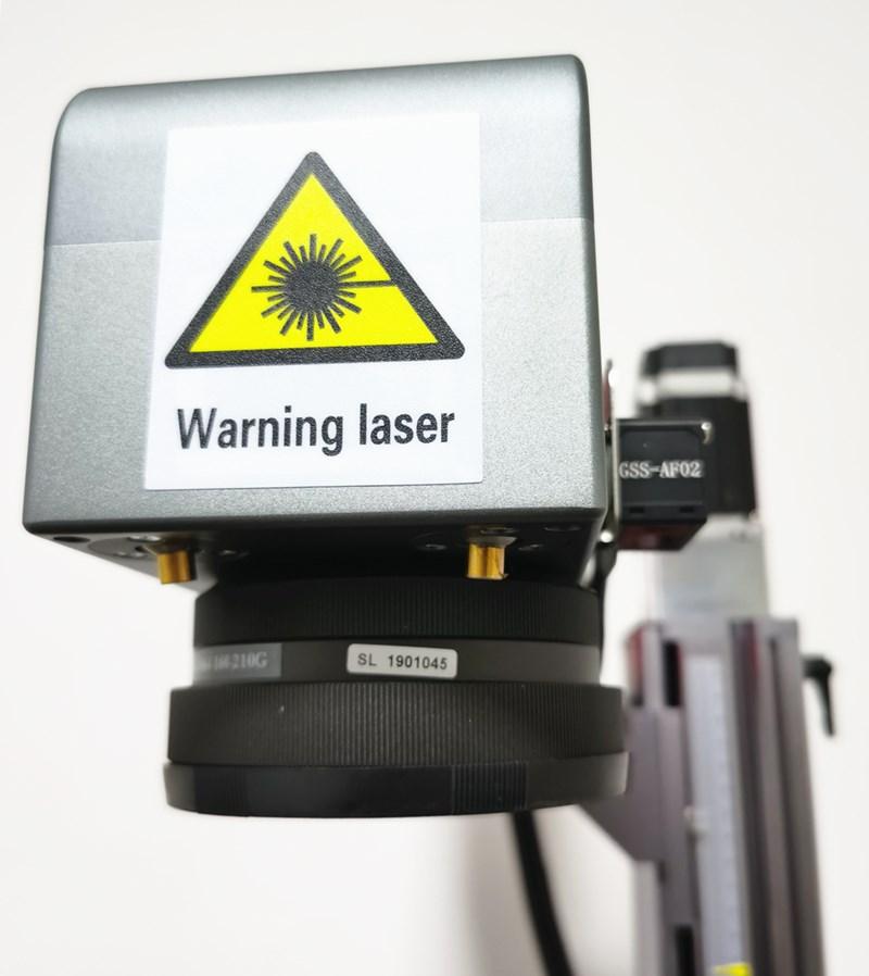 50W Split Fiber Laser Marking Machine With High Quality 110mm150mm Field Lens 4