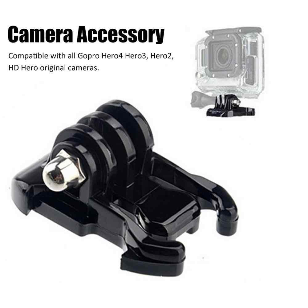 ل GoPro بطل الإفراج السريع مشبك قاعدة تثبيت الأساسية ترايبود جبل إبزيم كاميرا GoPro بطل 2 3 3 4 كاميرا الملحقات
