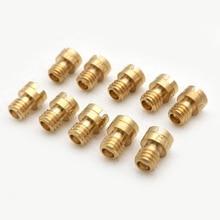 Replacement 10pcs Thread M4 Round Main Jet Size 70-92 Carburetors Main Jet Injectors Nozzle  Round Head 12 main jet $ 9 99