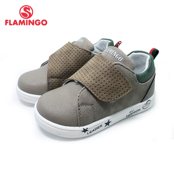 FLAMINGO 2020 Breathable Hook& Loop Spring& Summer Orthotic Outdoor Casual Shoes for Boy Size 19-24 Free Shipping 201P-SW-1796 - discount item  25% OFF Children's Shoes