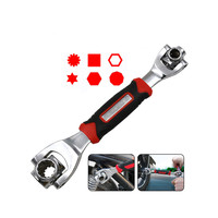 Multifuctional 8 in 1 Socket Wrench Tool With Spline Bolts Torx 360 Degree 6 Point Universial Furniture Car Repair Hand Tools