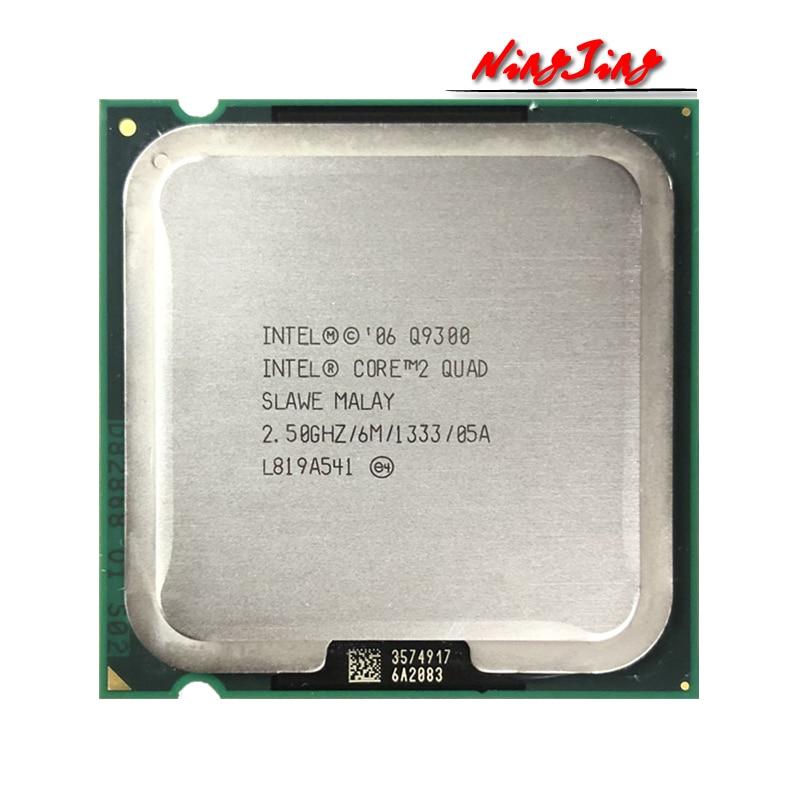 Процессор Intel Core 2 Quad Q9300 2,5 ГГц, четырехъядерный процессор 6M 95W LGA 775