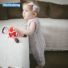 Baby Rompers Summer Knitted Newborn Girl Jumpsuits Fashion S