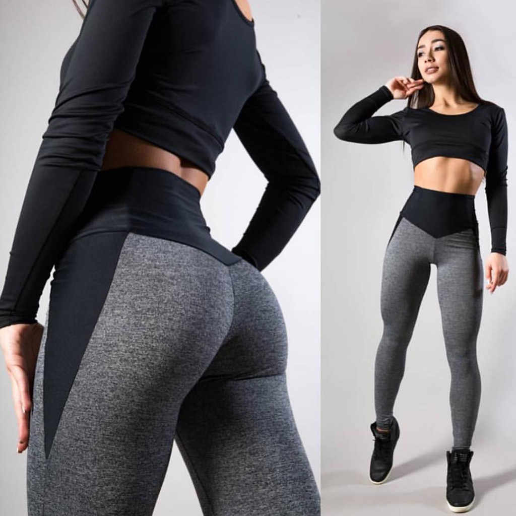 2019 Vrouwen Leggings Sexy Broek Push Up Fitness Gym Leggins Running Mesh Leggins Naadloze Workout Broek Femme Hoge Taille Mujer & C