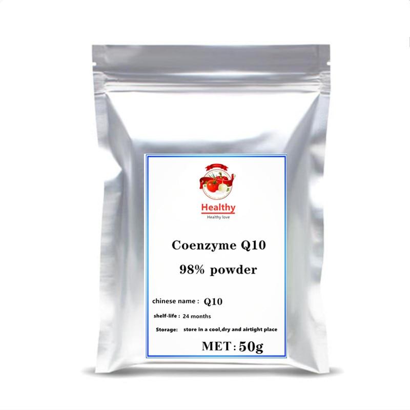 Pure Coenzyme Q10 Powder Cream Food Grade Co-Q10 Vitamin Q Anti-Fatigue Antioxidant Women /Men Sex Improves Immunity