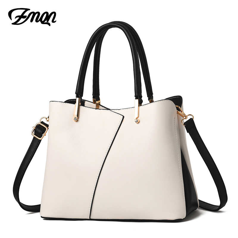 ZMQN Ladies Hand Bags Luxury Handbags Women Bags Designer 2019 White Crossbody Bags For Women Leather Handbag Female Bolsa A812