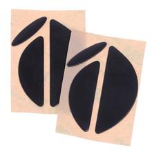 Для Logitech MX518 /G400 /G400S Мышь черный 2 компл./упак. хорошее качество 0,6 мм Мышь средства ухода за кожей стоп Мышь коньки