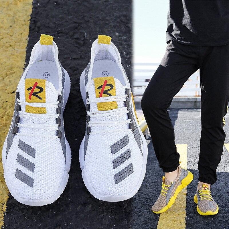 Zapatillas De correr ligeras para hombre, zapatillas transpirables ultraligeras De verano, Zapatos De Mujer para caminar, Zapato 1