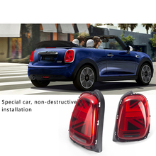 Car Rear combination lamp Exterior decoration taillight Modification For BMW MINI COOPER S F55 F56 F57 Taillight assembly 2pcs