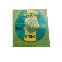 Disco de arranque suizo, Mini DVD para N G C, para NTSC PAL