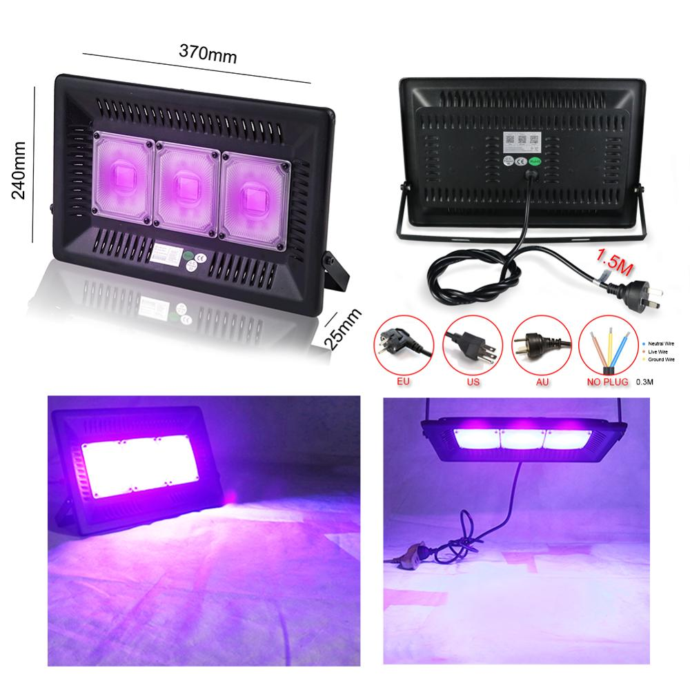 Christmas UV LED Black Light Ultraviolet Lamp Dance Party Dark Aquarium Body Paint Fluorescent Poster Curing Halloween Detector
