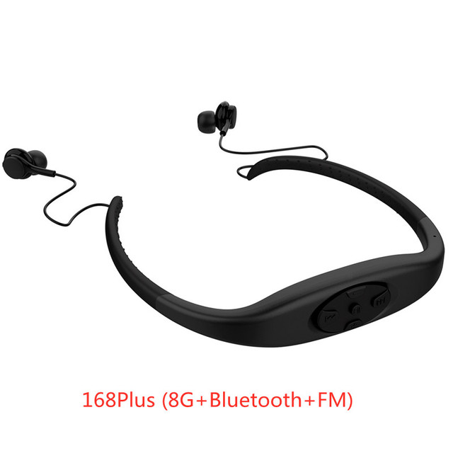 IP8 Waterproof 8GB Underwater Sports MP3 Music Player, Necklace Stereo Audio Earphone, Support MP3, WMA Audio Format 6