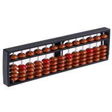 13 Cijfers Abacus Soroban Kralen Column Kid School Leermiddelen Tool Math Business Chinese Traditionele Abacus Educatief Speelgoed(China)