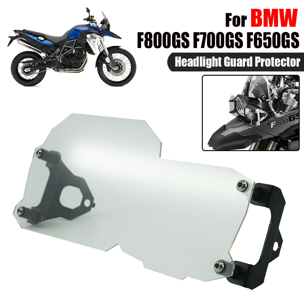 For BMW F800GS F700GS F650GS F800/700/650 GS ADV Twin Motorcycle Headlight Head light Lamp Guard Protector Cover Grile 2008-2016