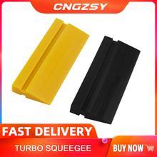 12cm*5cm Squeegee TPU PPF Smooth Tube Scraper Window Tint Car Wrap Film Squeegee Car Protection Film Install Wiper B49 B50
