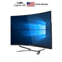 Капитан США экран 27 дюймов дисплей с изогнутой поверхностью
