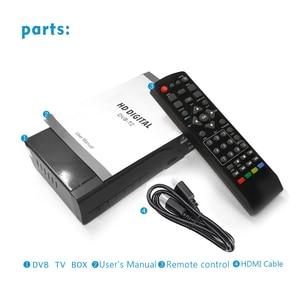 Image 5 - Vmade DVB T2 HD 1080P דיגיטלי יבשתי מקלט H.265 / HEVC DVB T מקלט טלוויזיה תמיכה M3U Youtube MPEG4 סטנדרטי סט תיבה עליונה