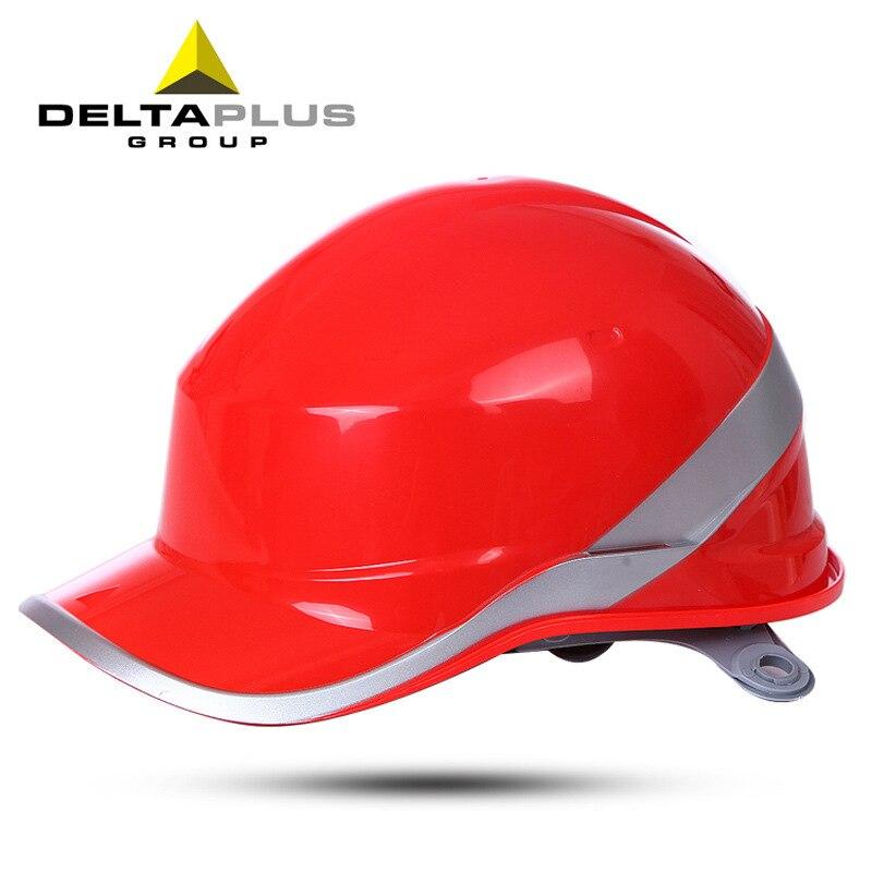 Deltaplus 102018 European Standard Safety Helmet ABS Insulation Safety Helmet Night Reflective Safety Helmet Wholesale