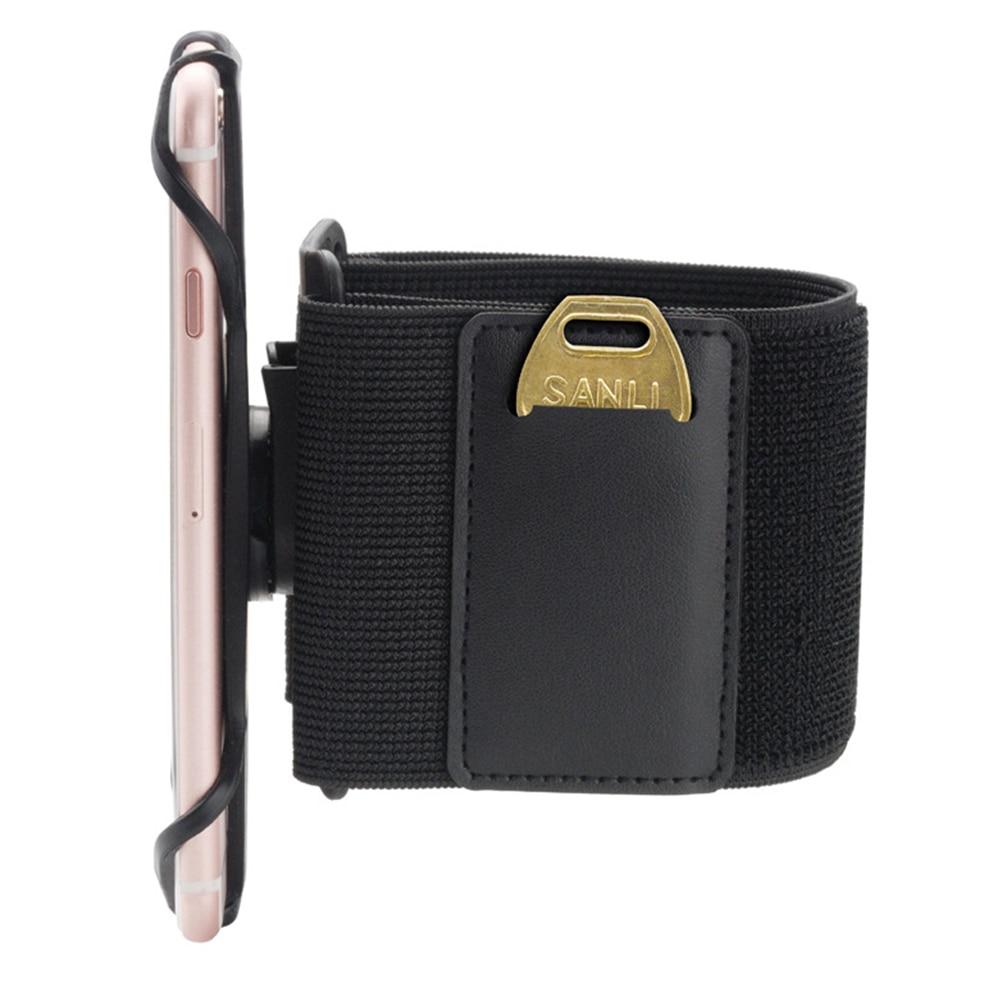 360 Degree Rotation Armband Wristband Anti-falling Wide Use Breathable Sports Supplies Adjustable Silicone Phone Holder Set