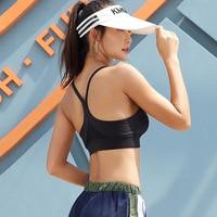 New beauty back shock proof gathered bra strap cross fitness running rims lady underwear women Gym Vest