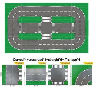 Image 5 - Plaques de Base classiques briques en plastique plaques de Base compatibles principales dimensions brank blocs de Construction jouets de Construction 32*32 points