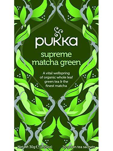 Pukka Herbs Supreme Green Matcha Tea 20sachet