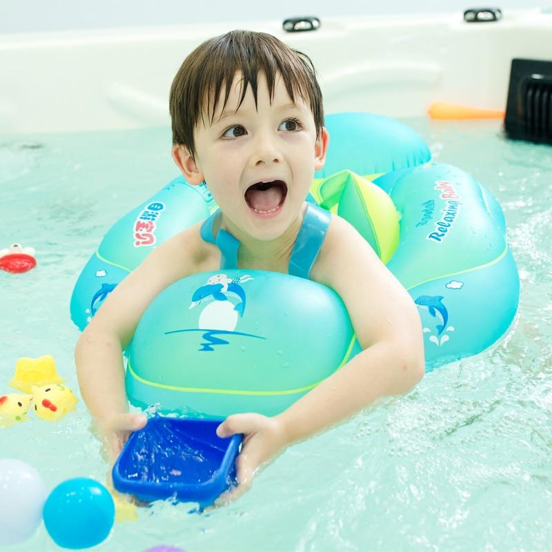 Baby Lying Circle Swimming Ring Child Underarm Circle Child Baby Floating Ring Swimming Ring 0-4 Years Old