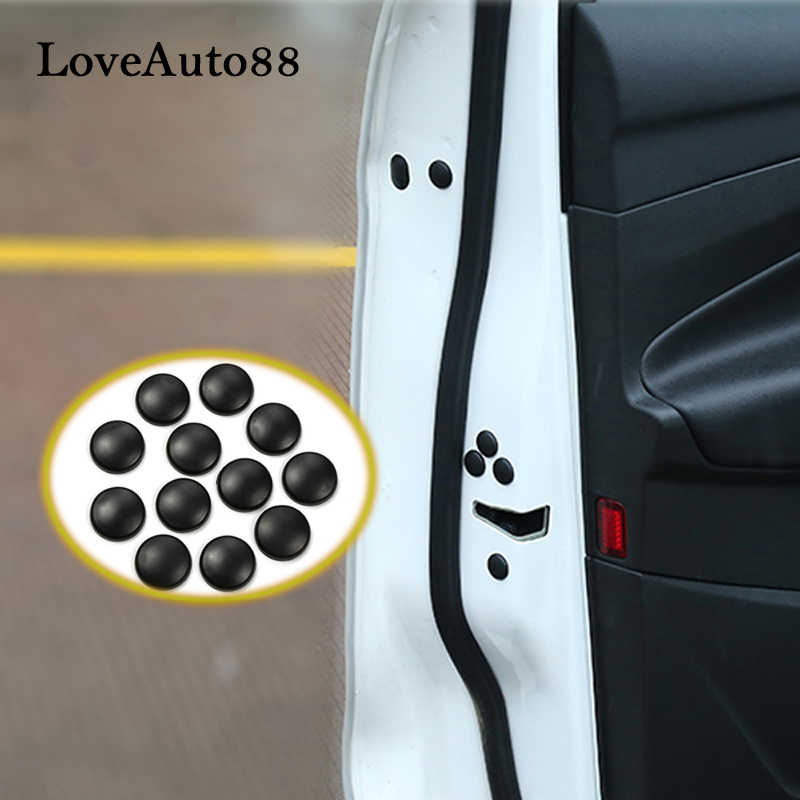 12 Stuks Auto Deurslot Schroef Protector Covers Voor Nissan Qashqai J11 J10 X-Trail Xtrail T32 T31 Auto accessoires