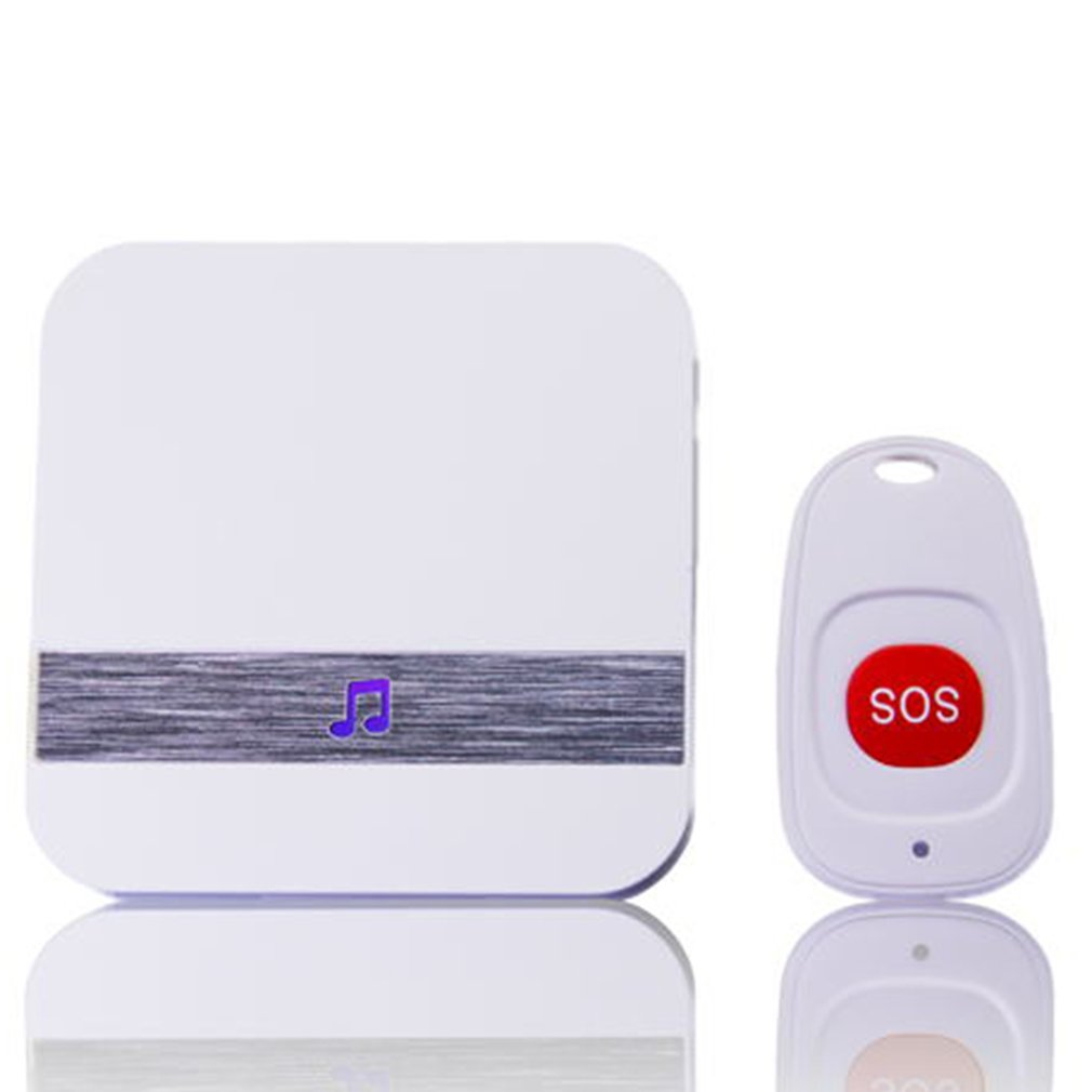 433MHz Wireless Panic Button Emergency Button Designed For Old Man Children Compatible With Home Burglar Alarm