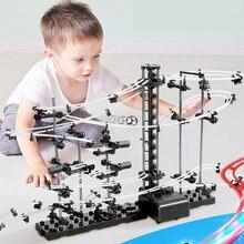 Novo labirinto de brinquedo para crianças, labirinto de trilhas com bolas de mármore para crianças, corrida de mármore brinquedos crianças