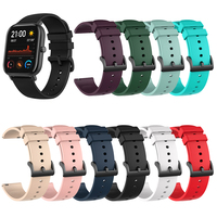 Silicone Wrist Strap for Xiaomi Huami Amazfit GTR 42MM GTS Bracelet Accessories on My Xiomi Mi Smart Watch Band Leather Straps